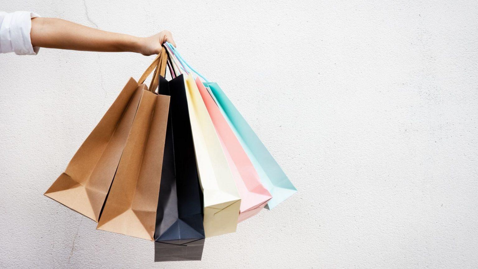 שקיות קניות - כאב התשלום